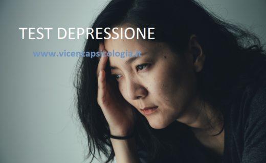 Test Depressione-Psicologo-Thiene-Vicenza